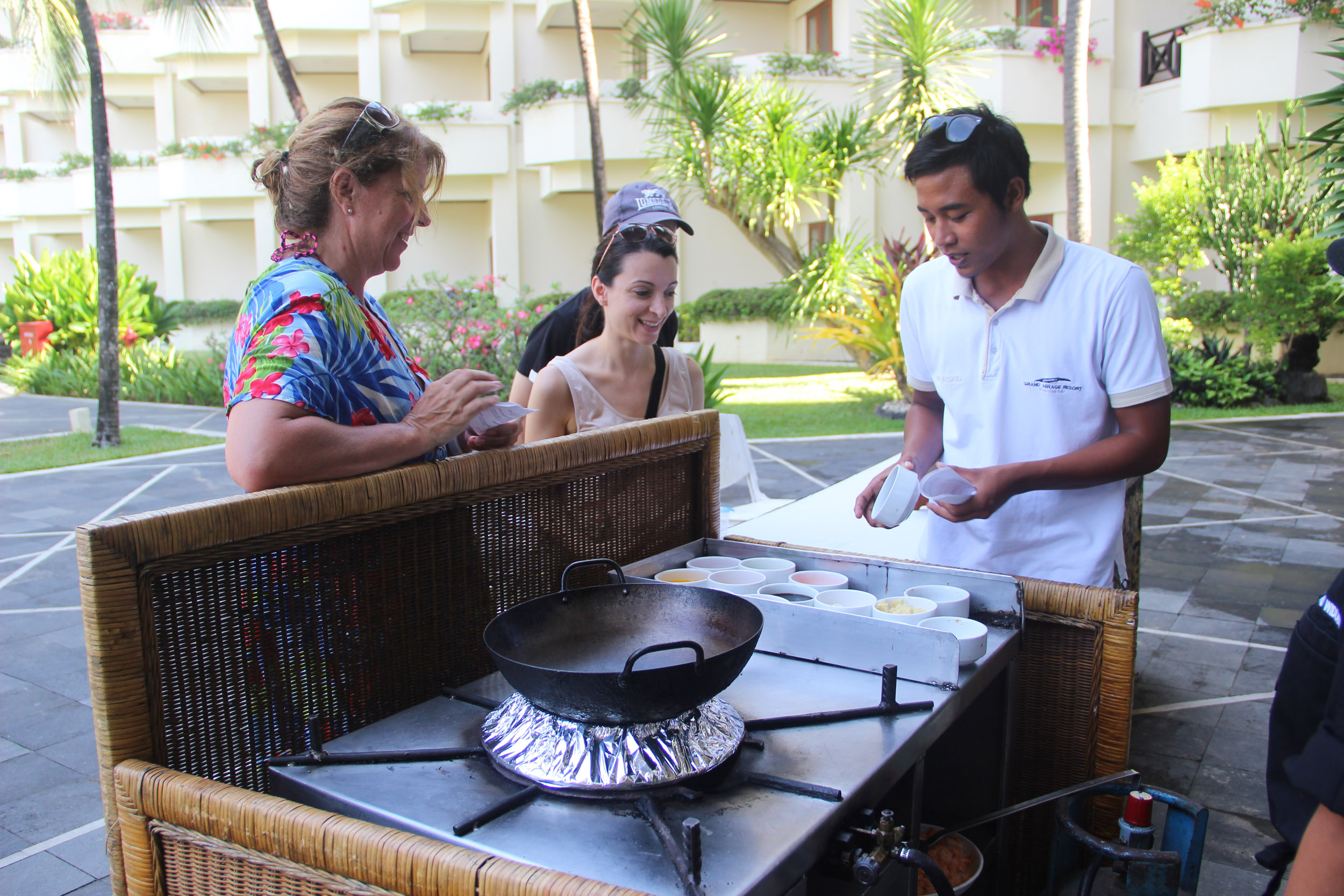 Cooking Class- Introducing The Taste of Indonesian Food with a Fun Way