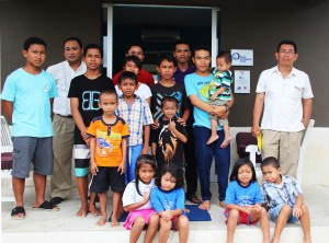 Grand Mirage team were with the kids from Anak-anak Bali