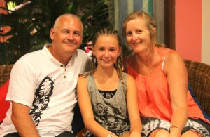 Meet Keiley and her parents!