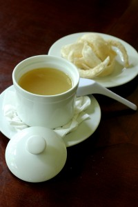Bird nest soup and the unboiled nest