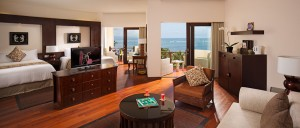 Ocean View Suite twin