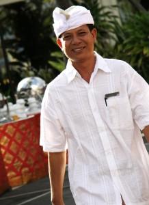Bali family hotel staff